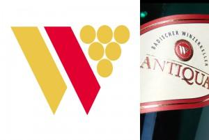 Das W in den badischen Farben und mit stilisierter Traube – das Logo des Badischen Winzerkellers tragen seit rund 20 Jahren Millionen von Flaschen.