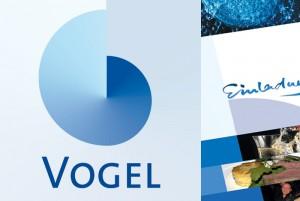 Die VOGEL Ingenieure sind ausgewiesenen Experten für Kanalinstandhaltung – das Thema Wasser ist auch das Thema des Logos.