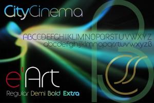 Futuristisch, klar, auf dem Kreis aufgebaut – von Regular bis Extra Bold. Eine Schrift, die sich bestens eignet für markante Logo.